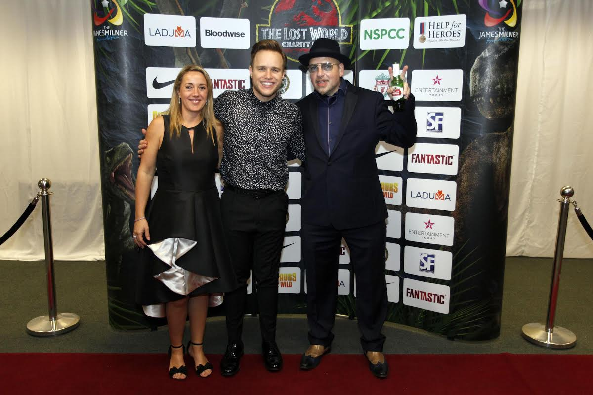 Olly Murs with Bellagio Global Founder Mike Cohen.
